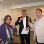 Eröffnung mit Herrn Bürgermeister Asam und Eigentümer Herrn Meusel